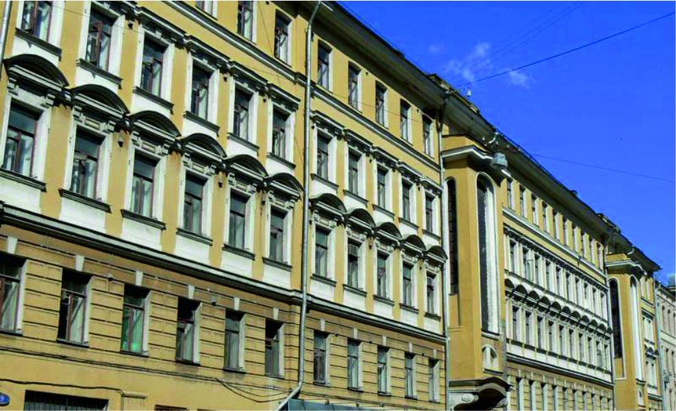 Дом Привалова работы архитектора Нирнзее на улице Садовническая, д. 9