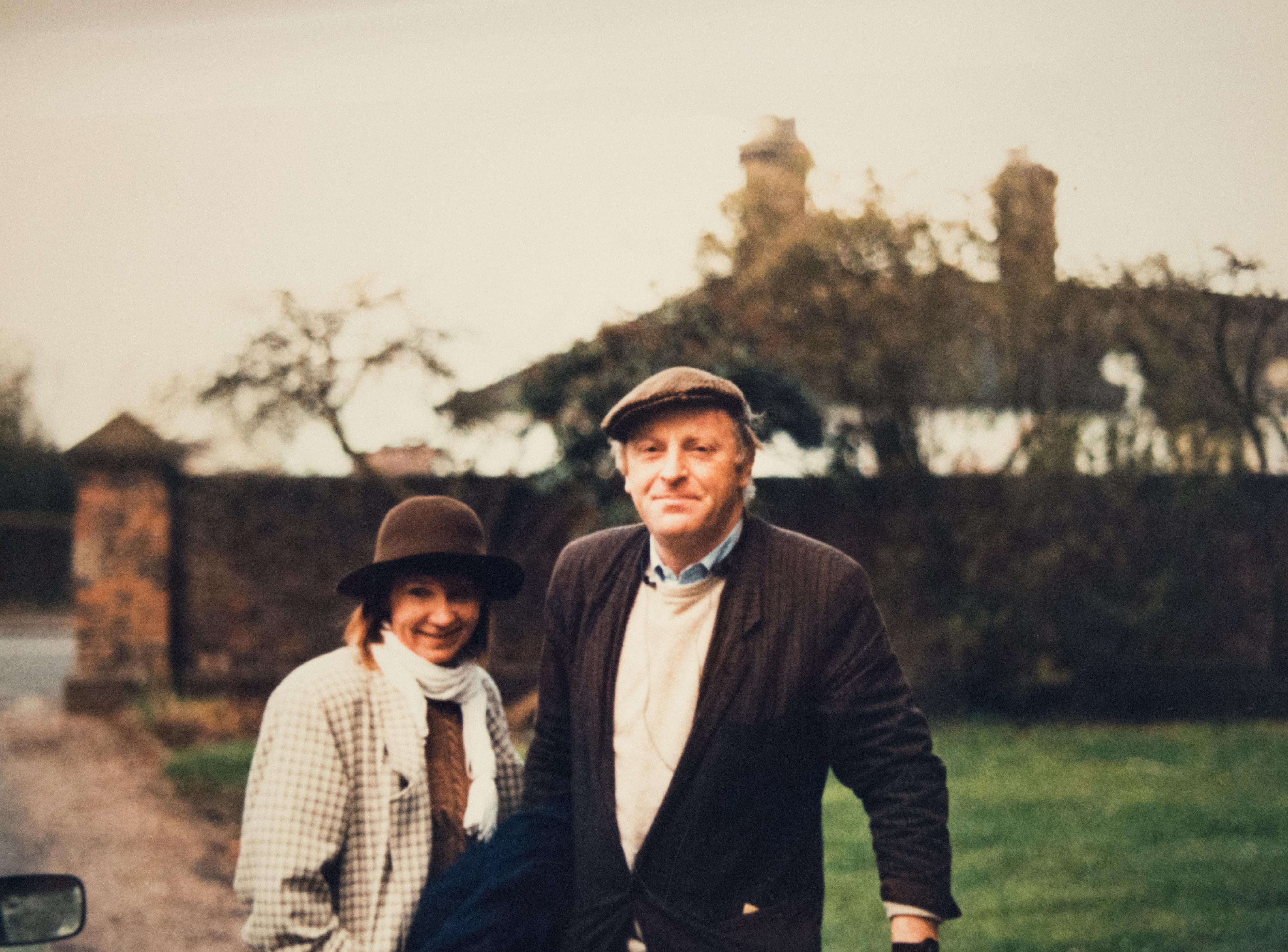 И. Бродский с В. Полухиной в Килском университете, 1985