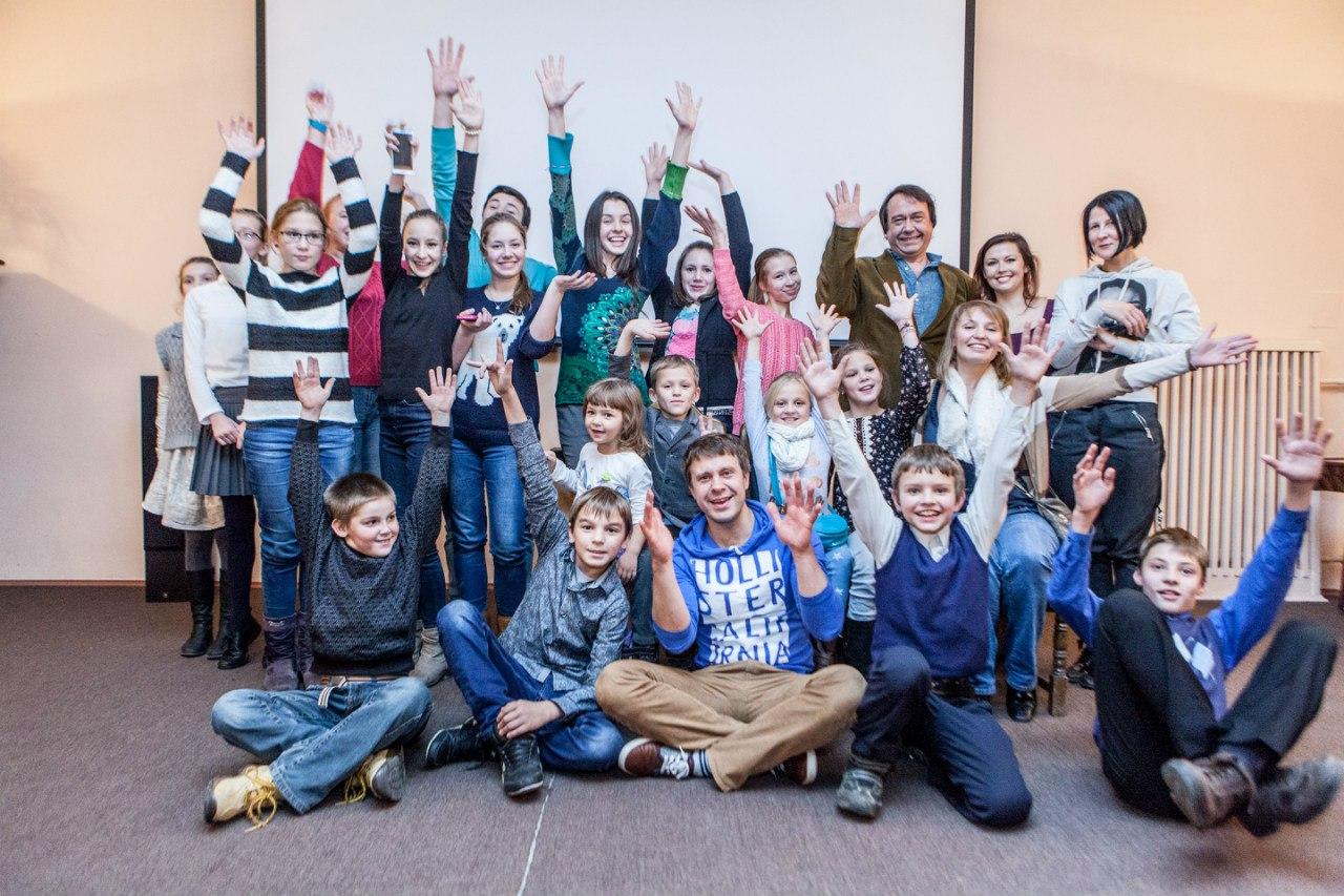 Мастер-класс по актерскому мастерству с Сергеем Перегудовым