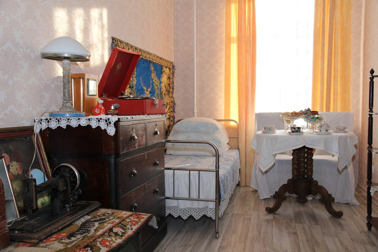 Музей «20 лет после войны» . Мемориальная комната.