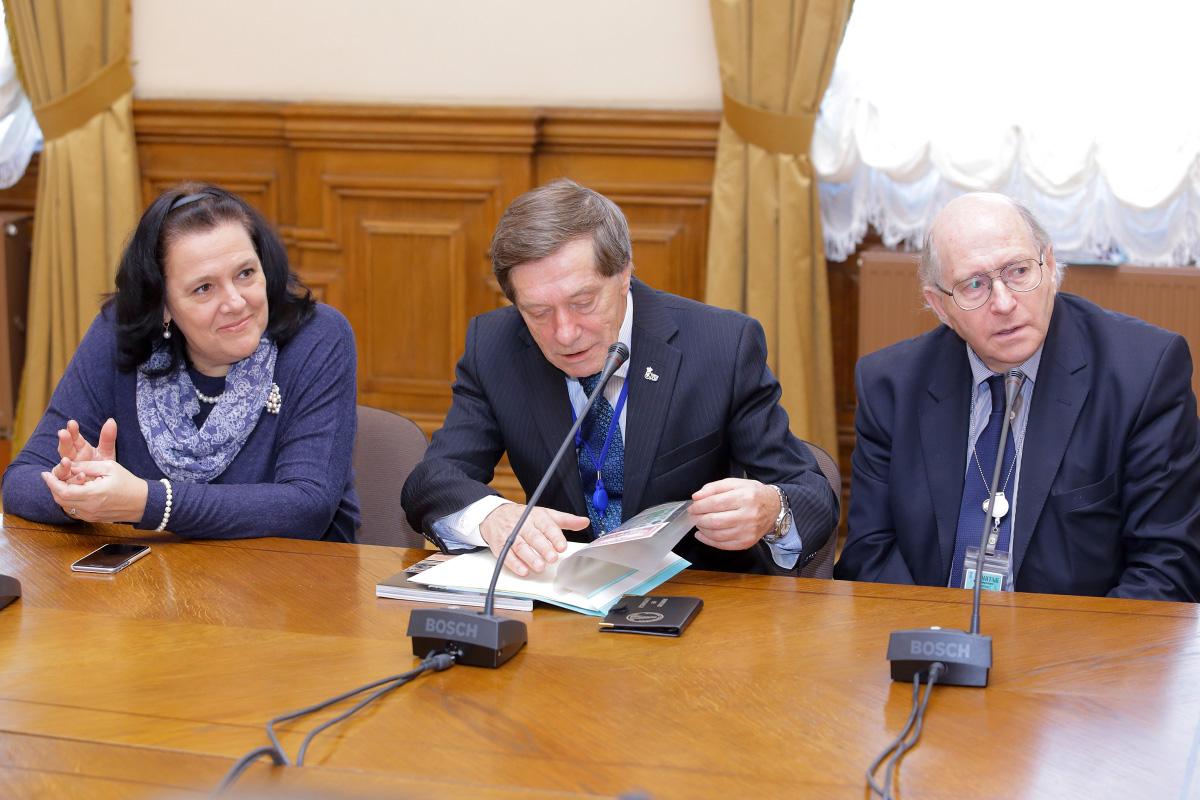 Светлана Адаксина, Виталий Калинин и Виктор Файбисович
