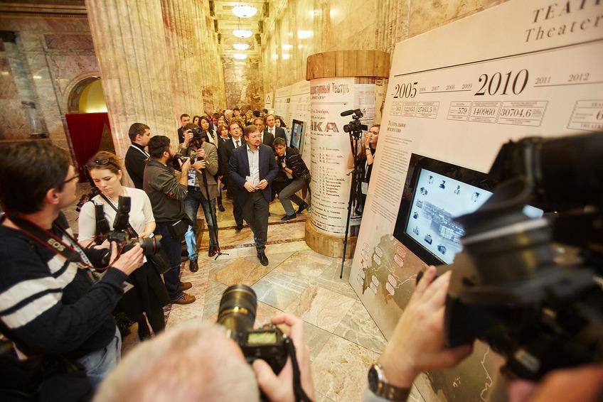 """В. Мединский Открытие выставки """"Территория культуры"""""""