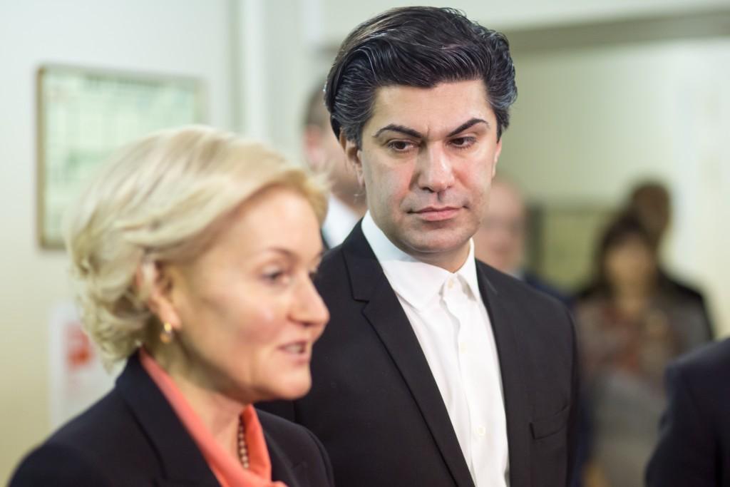 Ольга Голодец и Николай Цискаридзе