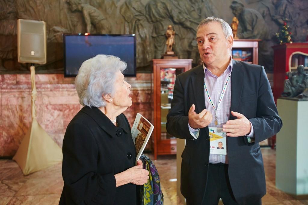 Ирина Антонова и Аркадий Соснов