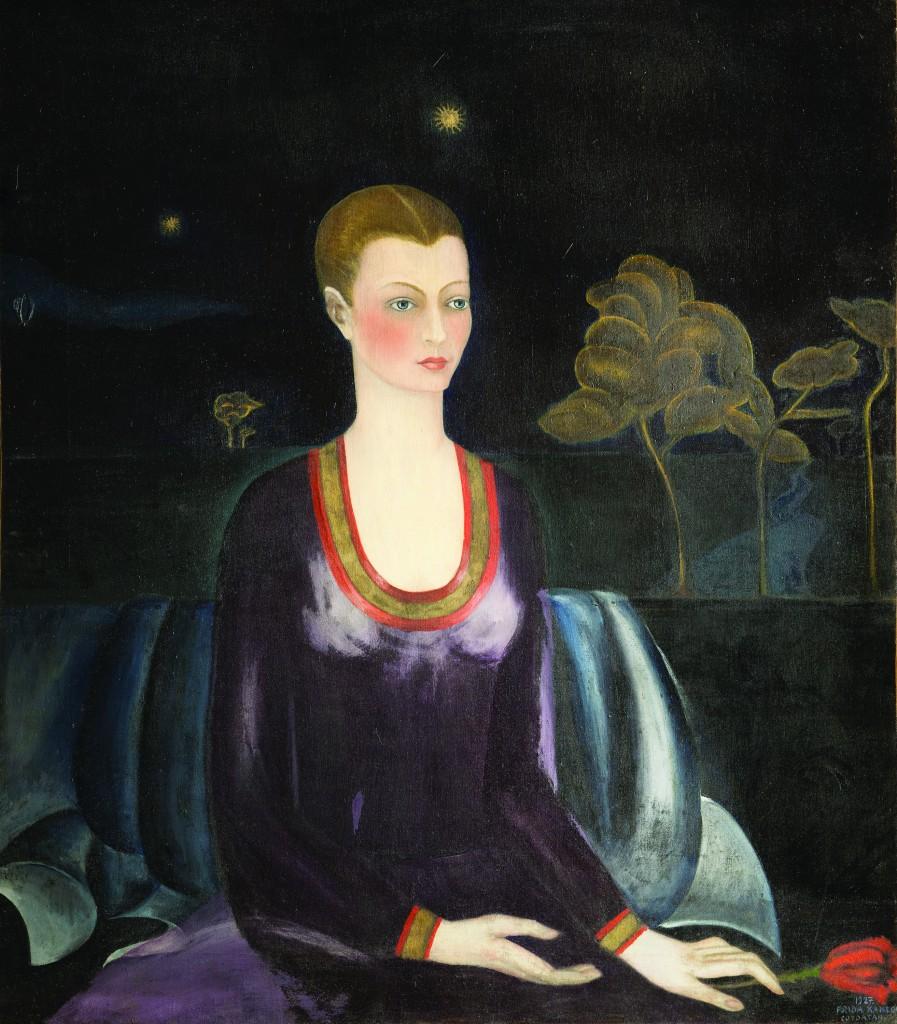 Портрет Алисии Галант