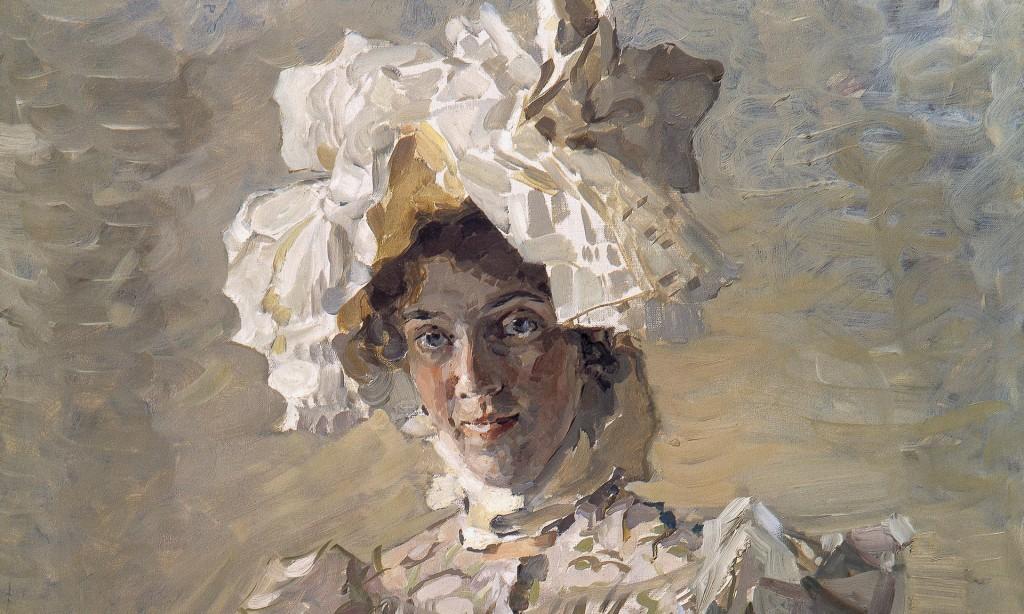 Портрет Надежды Забела-Врубель. Михаил Врубель, 1898