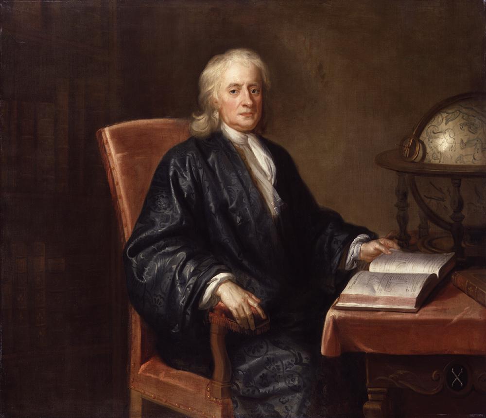 «Сэр Исаак Ньютон». Мастерская Еноха Симена. Около 1726 г.