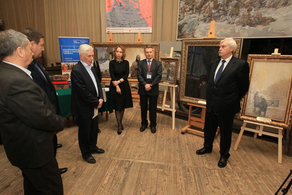 Картины для Музея обороны и блокады Ленинграда