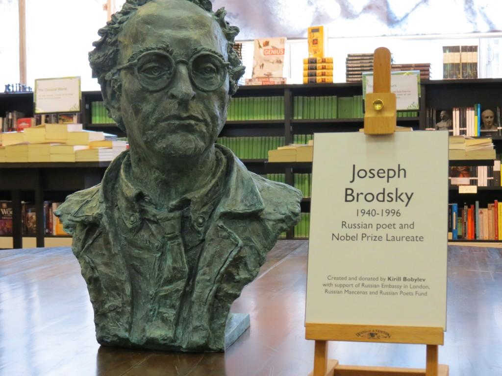 В Лондоне открыт бюст Иосифа Бродского