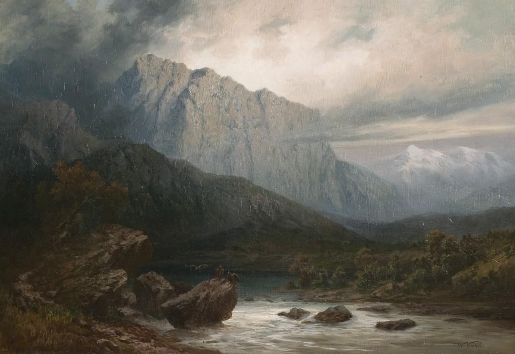 Кнолл В. Вид Кавказа. Последняя треть XIX в.
