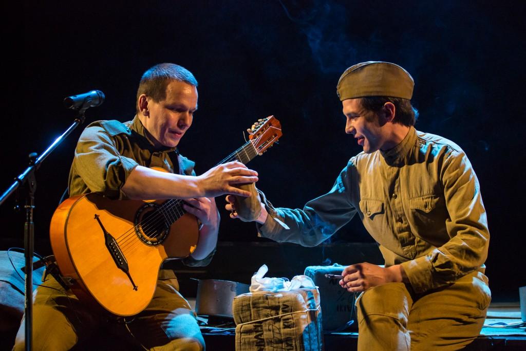 На сцене театра – память о войне