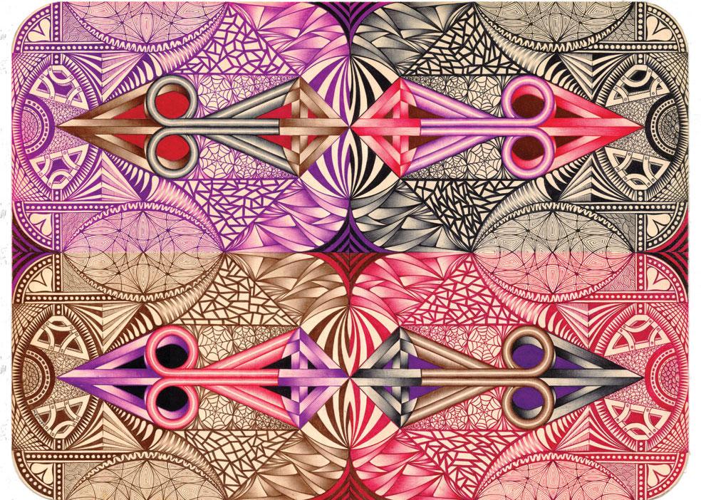 Семь картин из колоды Кейча