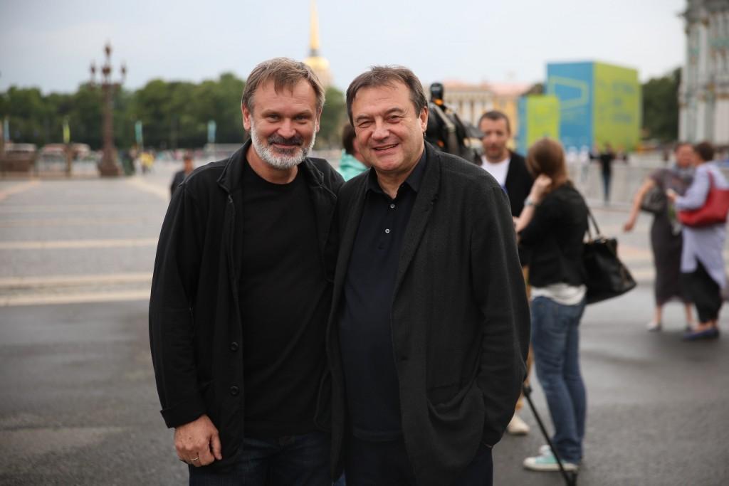 Алексей Учитель и Сергей Мокрицкий