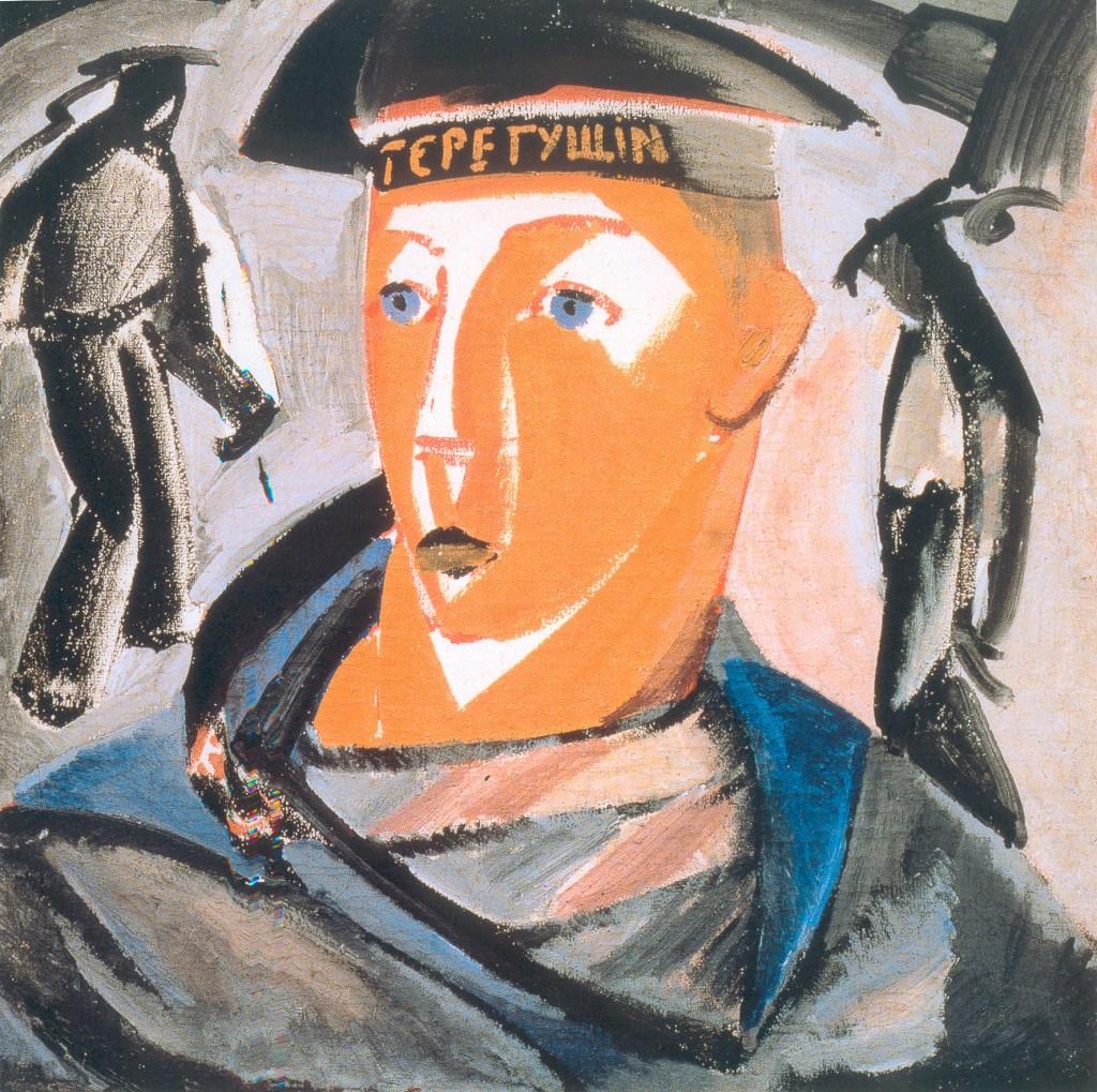 В.Е.Татлин. Матрос. 1911. Холст, масло. 71,5х71,5