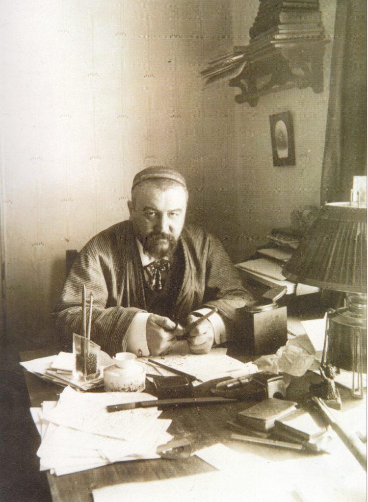 А.И. Куприн. Гатчина, 1913 г. Фотография К.К. Буллы. Из собрания Пушкинского Дома