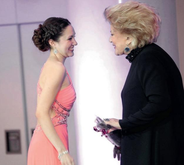 На гала-концерте «Виват Елена!» в честь 50-летия творческой деятельности певицы.