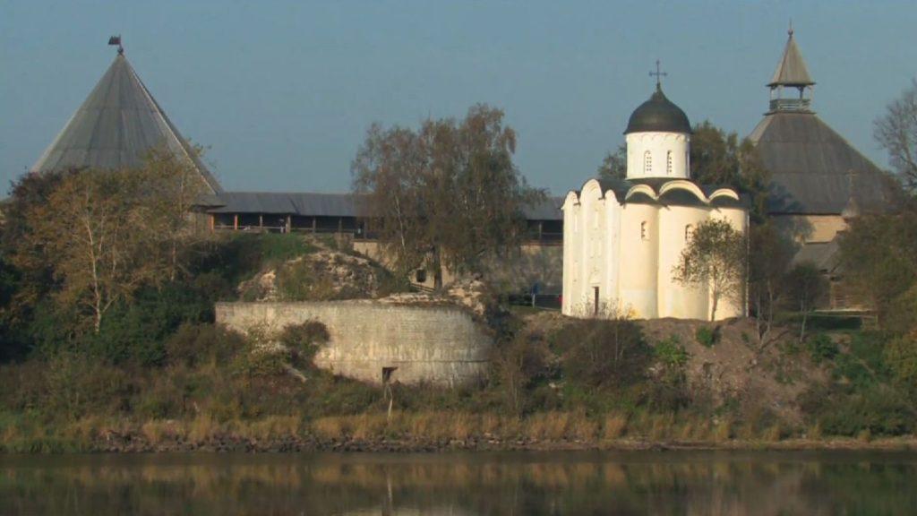 Вид на церковь Св. Георгия