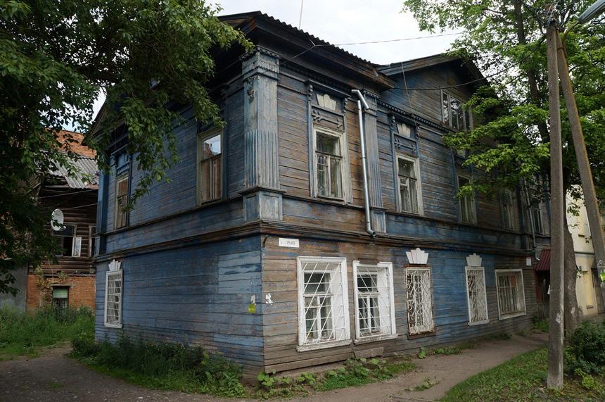 Дом 36-1 скоро пополнит число брошенных деревянных памятников