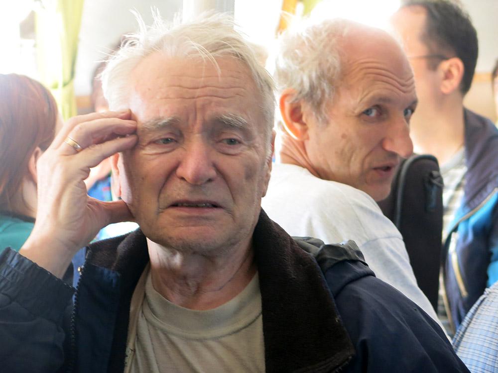 Один из основателей фестиваля Валентин Вихорев