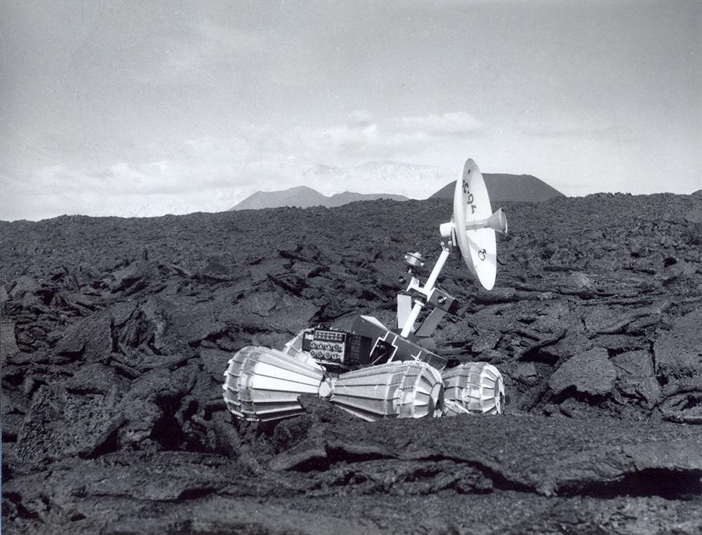 Испытания марсохода на Камчатке