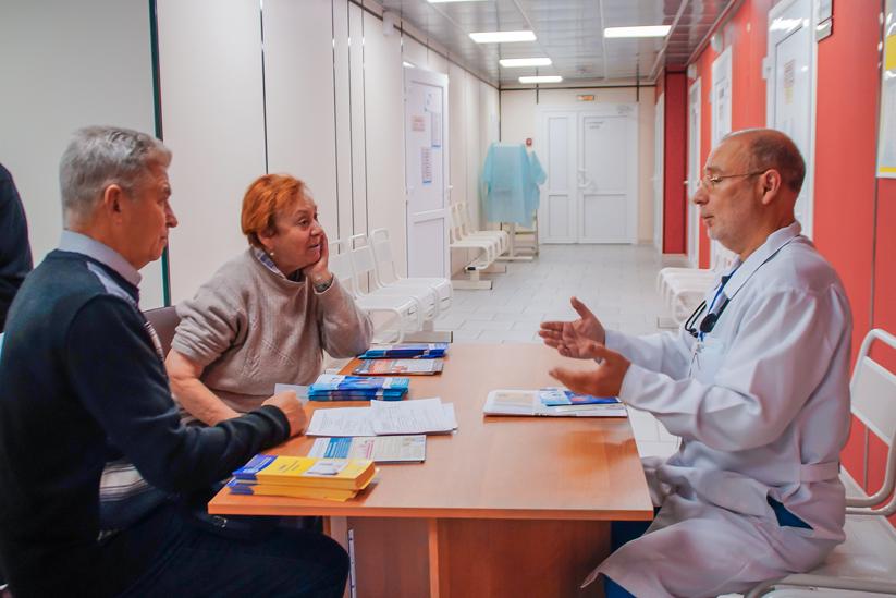 В больницах боролись с инсультом
