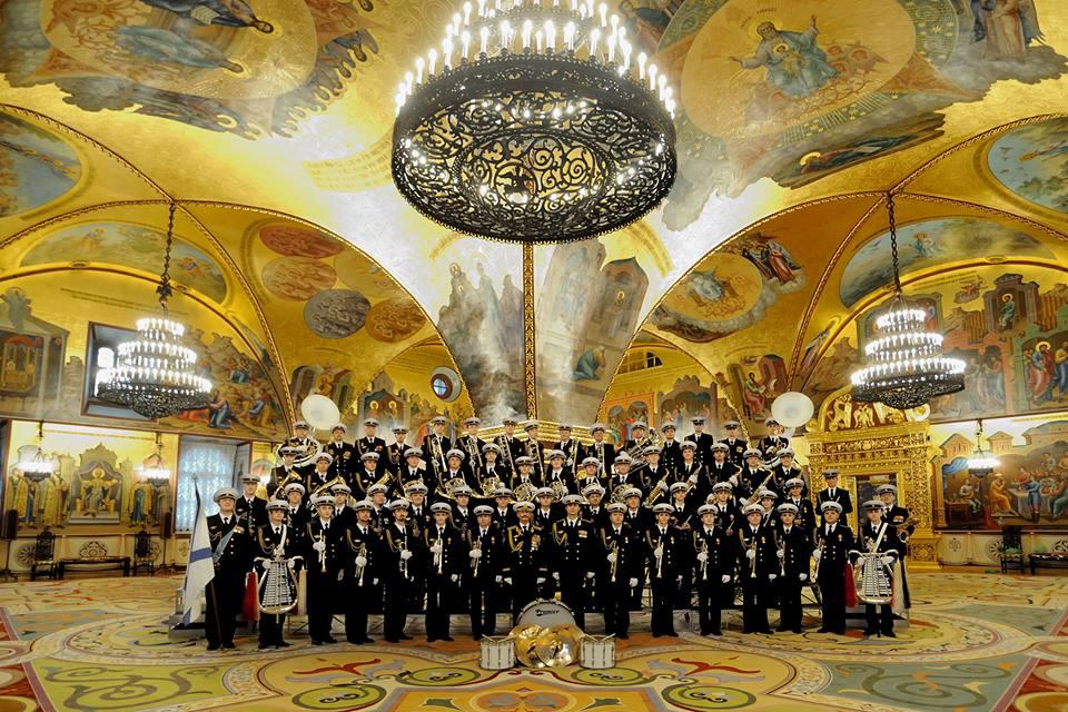 Оркестр в Грановитой палате