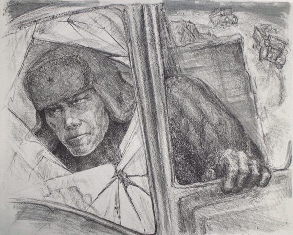 Через Ладогу. Апрель 1942 гг.
