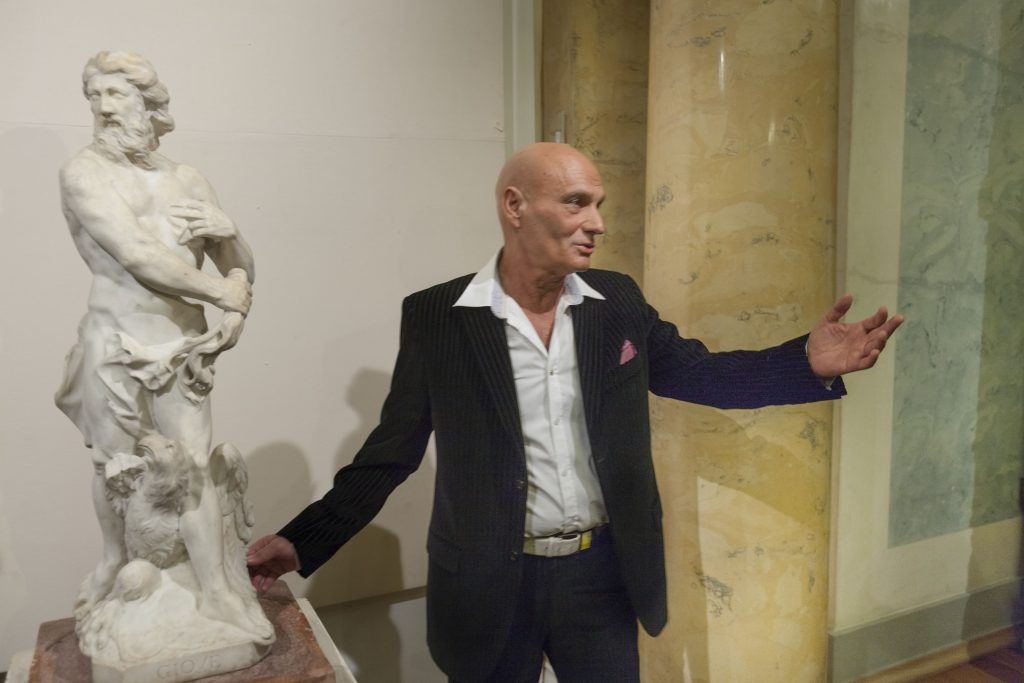 Коллекционер Юрий Абрамов дарит Эрмитажу мраморную скульптуру Юпитера