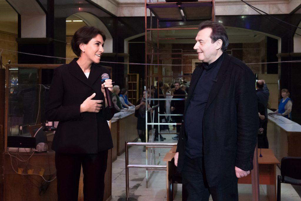 Анна Попова и Алексей Учитель