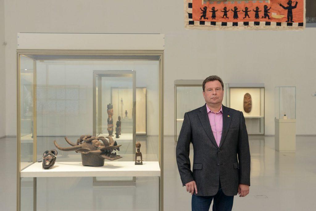 Сергей Гирдин подарит Эрмитажу предметы африканского искусства