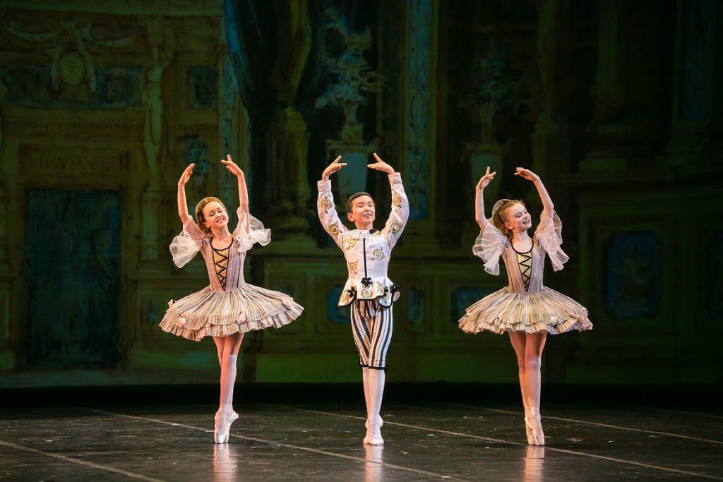 Воспитанники Академии русского балета имени А.Я. Вагановой