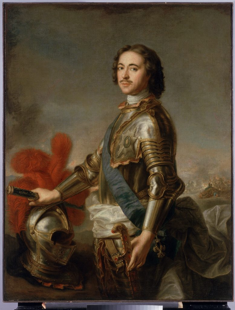 Портрет Петра I. Жан-Марк Натье  (1685 – 1766)